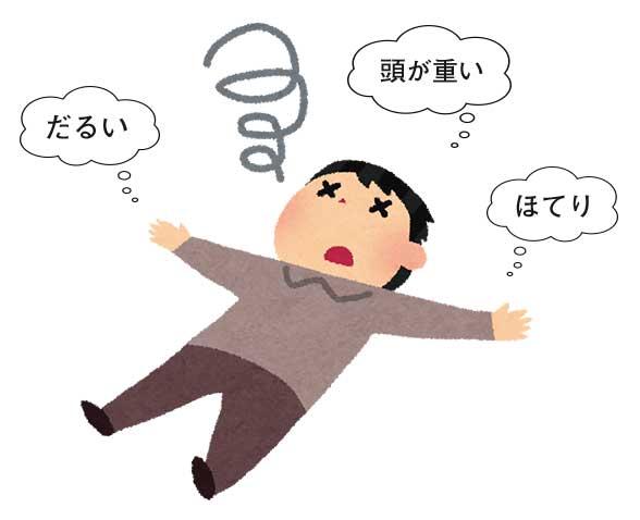 好転反応の症状の例