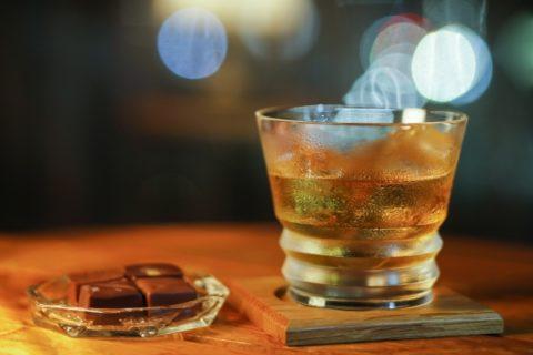 ウィスキーの水割り画像