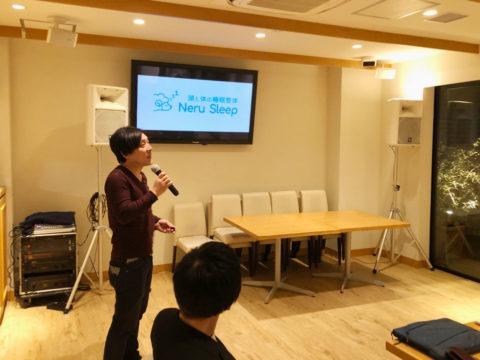大阪で講演会を開いた時の写真